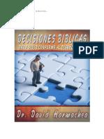 Modulo III - Decisiones Biblica