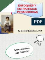 Enfoques y Estrategias pedagógicas