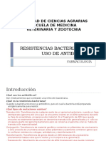 Resistencias Bacterianas Al Uso de Antibioticos