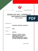 Comercio de Servicios  China- Perú - Usa