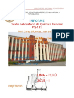 6° laboratorio de quimica 2015-1