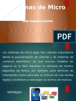 Sistemas de Micro Pago