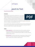 IEEE RAS Project Doc - Speech-To-Text
