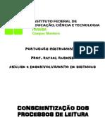 Conscientização Dos Processos de Leitura