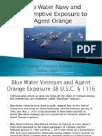 OSACVSC Blue Water Navy Training