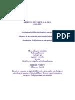ARTHUR C. CUSTANCE Culturas Primitivas