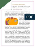 Historia Educ a Distancia en Mex