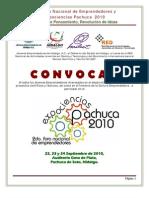 2do Foro Nacional de Emprendedores y Expociencias Pachuca 2010