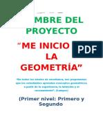 Proyecto de Geometr A