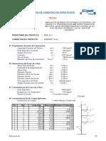 Cálculo de Las Cimentaciones Postes 13-04-2016 (1)