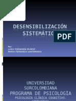 Desensibilazación Sistematica
