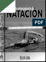 Manual de Entrenamiento de Natacion (en Forma) - Ed. Tutor