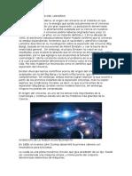 Origen y Formacion Del Universo