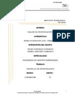 Proyecto de Investigacion Protocolo