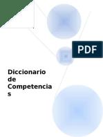 Diccionario Competencias