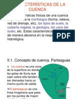 Caracteristicas de La Cuenca