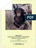 Jorge Martínez Contreras-Primates, evolución, cultura y diversidad