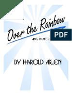 Somewhere Over the Rainbow Piano Sheet Music PDF