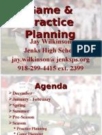 Jenks gameplaning