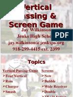 Jenks High School VerticalPass