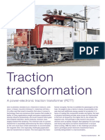 Power Electronic Traction Tranformer
