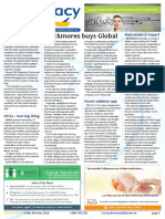 Pharmacy Daily for Fri 06 May 2016 - Blackmores buys Global, CSU-Rangsit pharmacy MoU, Pharmacy cybersecurity, Events Calendar and much more