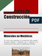 Clase N° 4 Minería de No Metálicos