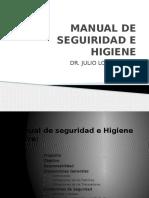 Manual de Seguiridad e Higiene