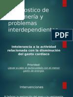 Diagnostico de Enfermería y Problemas Interdependientes