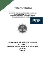 Program Kerja Pramuka Smkn 6