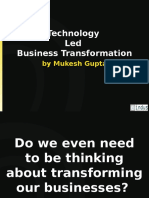 Technology Driven Business Profile