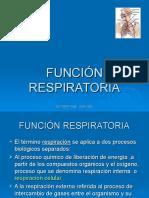 Funcionrespiratoria