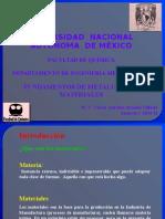 1.- Unidad I Propiedades Mecanicas Parte I