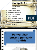 Ppt Sap Tiroiditis