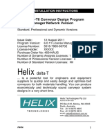 Helix DeltaT6 License Manager Sample Installation Instructions