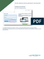 Pasos Para La Activacion Del Manual Oficial Microsoft Con Skillpipe