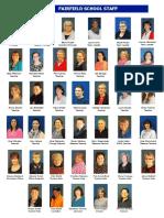 Fairfield School Staff