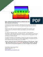 LGBT Parade Flyer