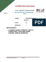 Informe Programacion Digital