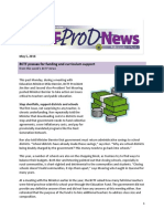 BCTF Pro-D News - May 2016