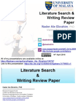 Literature Search & Writing Review Paper