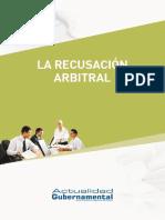 La Recusación Arbitral - IP, Lv, 138p