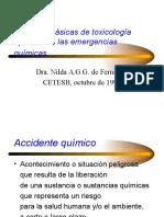 4. Nociones Bsicas de Toxicologa