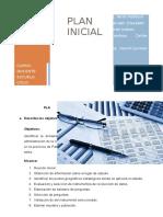 Plan Inicial - Adm. Proyectos