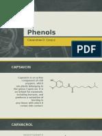 Phenols -- Application