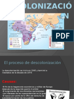 Descolonización HISTORIA