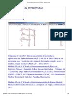 Programas Para Estructuras - Ingenierociviltdf