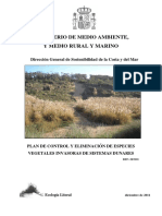 CONTROL DE PLANTAS ALÓCTONAS