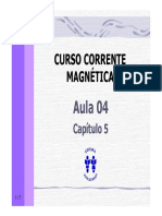Curso Corrente Magnetica - Aula 04 - Cap 05 (7p)