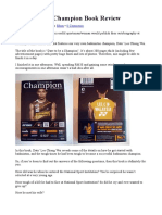Dare to Be a Champion_Book Review